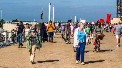 Mondmasker verplicht tijdens eerste warme weekend aan zee? Volgen andere kustgemeenten voorbeeld van Blankenberge?