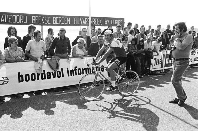 Raymond Poulidor in het Criterium der Azen in Hilvarenbeek