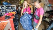 Koop je eigen gedumpte tent of regenlaarzen terug in Kringloopwinkel Pukkelpop