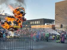 Eend en carnaval 2018 gaan in Boxtel samen in rook op