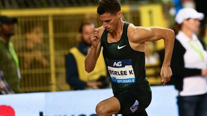 Kevin Borlée gediskwalificeerd op 4x400 meter tijdens Continental Cup