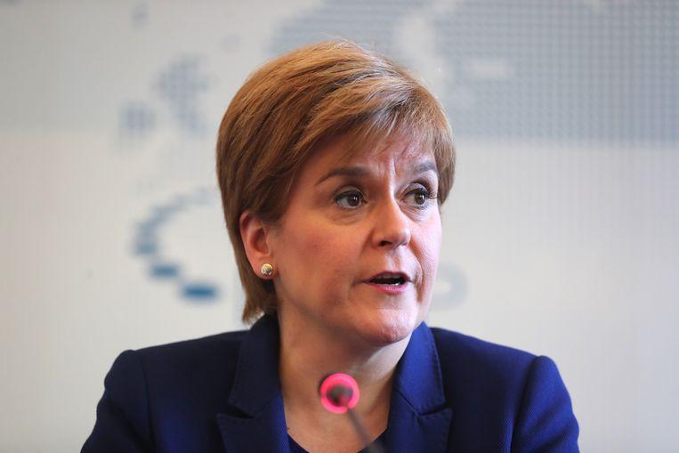 """Gisteren schreef Sturgeon al op Twitter dat ze er """"zo zeker als mogelijk van is"""" dat het ja-kamp het dit keer wel zal halen. """"Onafhankelijkheid komt eraan."""""""