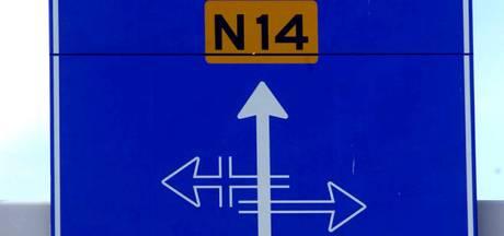Storing in verkeerslichten N14 zorgt voor veel vertraging
