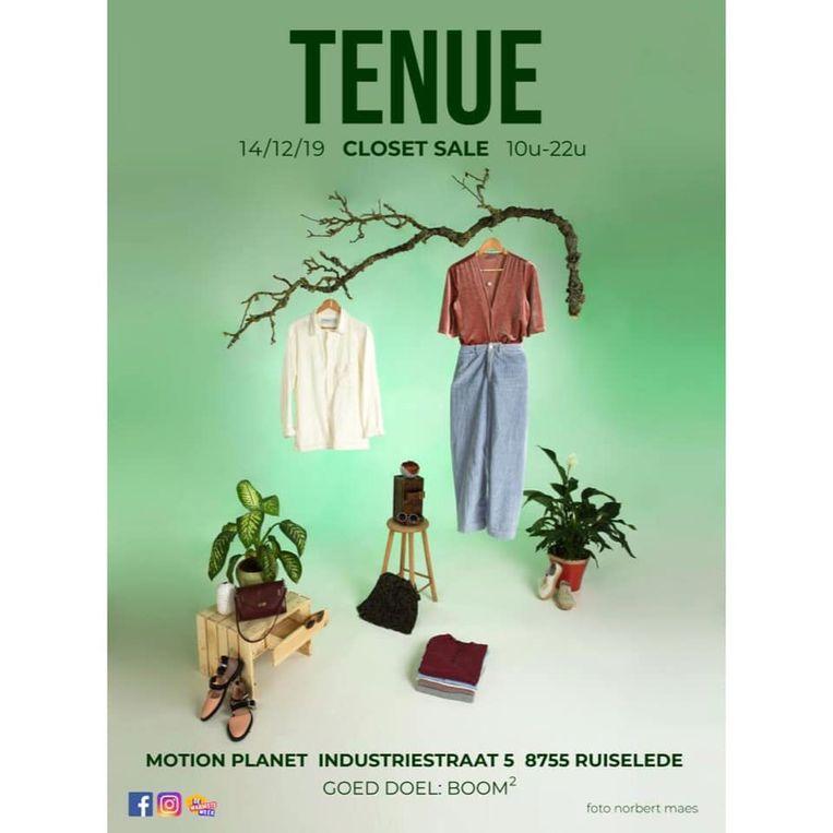 De affiche van Tenue.