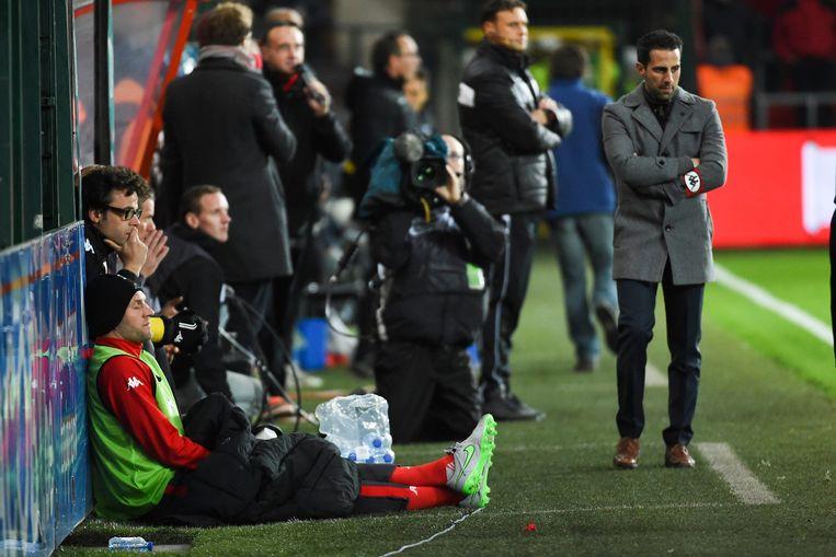 Ferrera dropte aanvoerder Van Damme op de bank voor de partij tegen Westerlo, die op de koop toe met 1-2 verloren werd.
