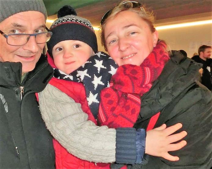 Chris, Robbe et Katia