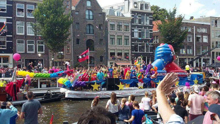 De boot van de gemeente Beeld Patrick Meershoek