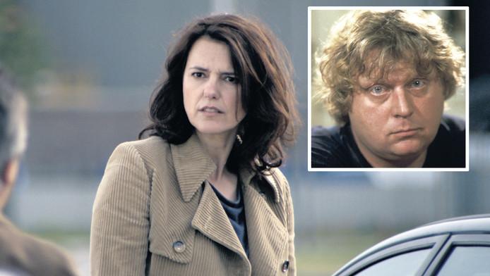 Susan Visser speelt een teamhoofd van de AIVD, dat de waarheid wil achterhalen.Inzet: Theo van Gogh