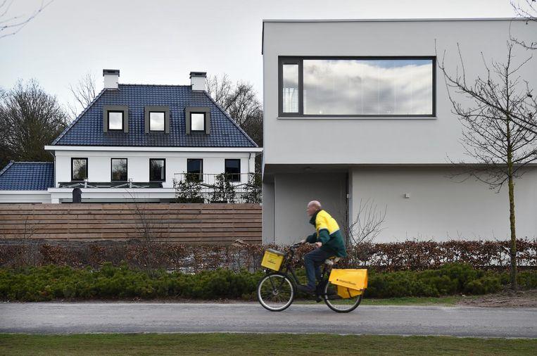 Vught-Noord, waar twee grote projecten voor sociale woningbouw in de afgelopen jaren zijn geschrapt ten faveure van 'royale percelen met overwegend vrijstaande huizen'. Beeld null