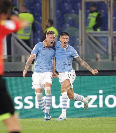 Tien man Juventus lijden eerste nederlaag van het seizoen bij Lazio