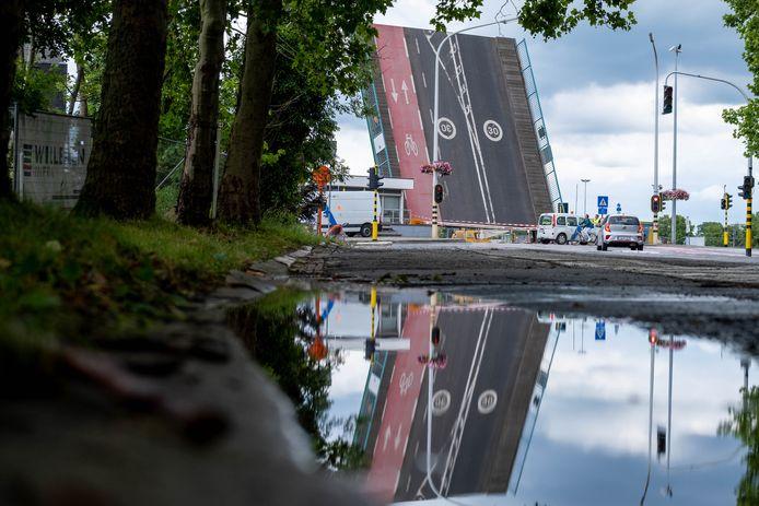 De Colomabrug in Mechelen.