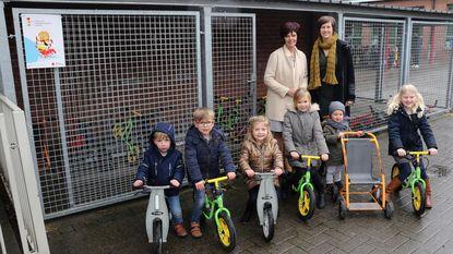 Basisschool krijgt 5.000 euro subsidie voor fietsenstalling