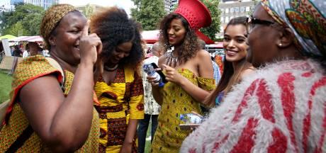 Tropisch feestje met muziek, dans en lekkernijen om afschaffing slavernij te vieren