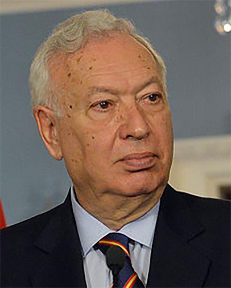 Spaans minister van Buitenlandse Zaken José Manuel García-Margallo