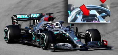 Stennis om een stuurtje van Lewis Hamilton