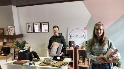 Primeur voor gemeente: Martine en Emilia openen eerste pop-upwinkel