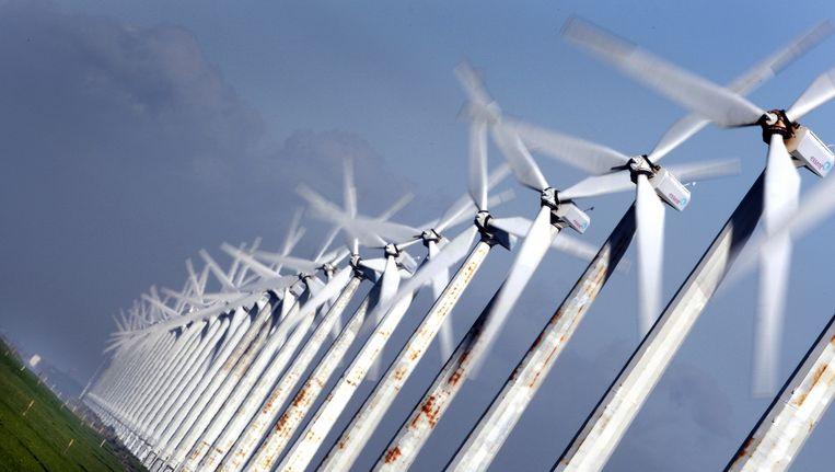 Ter illustratie: windmolens Beeld anp