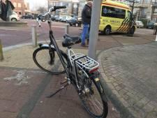 Fietser botst met auto in Nieuwleusen