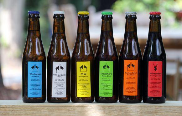 Alle bieren van Florik.