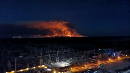 """Grote bosbranden bij Tsjernobyl nog niet onder controle: """"Altijd risico op vrijkomen straling"""""""