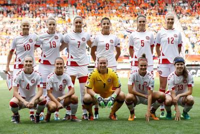 Deense voetbalsters staken verzet