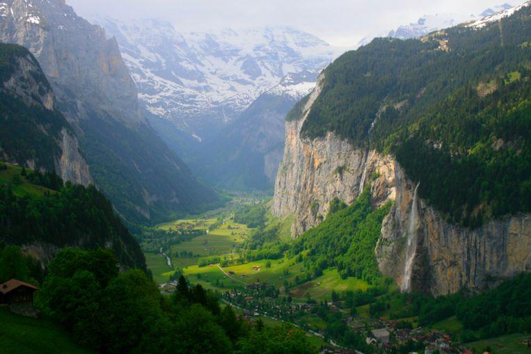 Het Zwitserse Lauterbrunnen