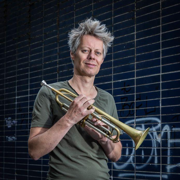 Trompettist Gerben Klein Willink.