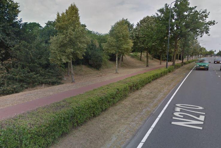 Deurneseweg in Helmond.