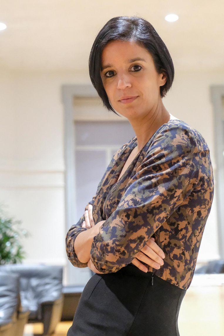 Huidig burgemeester Nadia Sminate.