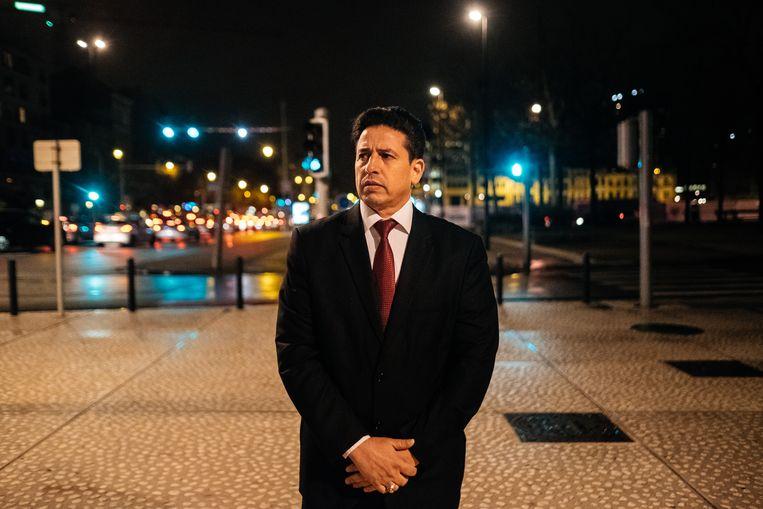 Yousef Ibrahim Algouri is voorzitter van het comité en voorzitter van de parlementaire commissie Buitenlandse Zaken in Libië.