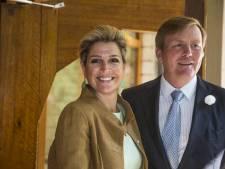 Koningspaar en BN'ers bij viering tienjarig bestaan PKN