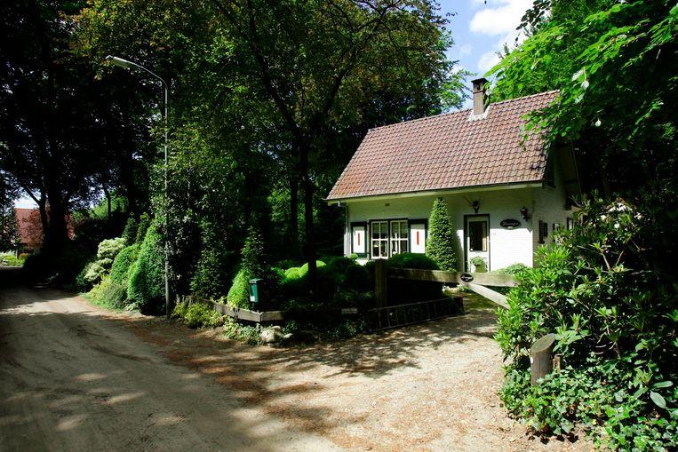 Het huis in Putten waar Ambrosius werd vermoord. Beeld anp