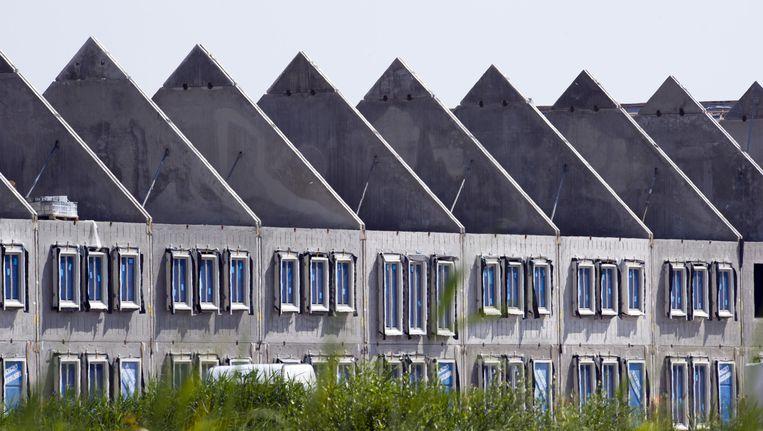 Nieuwbouwwijk Almere Poort, in 2010 het laatste kustgebied waar grootschalig werd gebouwd Beeld anp
