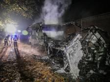 Bewoner ontsnapt aan dood bij brand in camper Zeddam op dag voor verjaardag