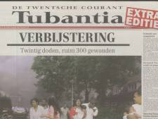 Lees hier de extra editie van Tubantia van 14 mei 2000 rond de vuurwerkramp terug