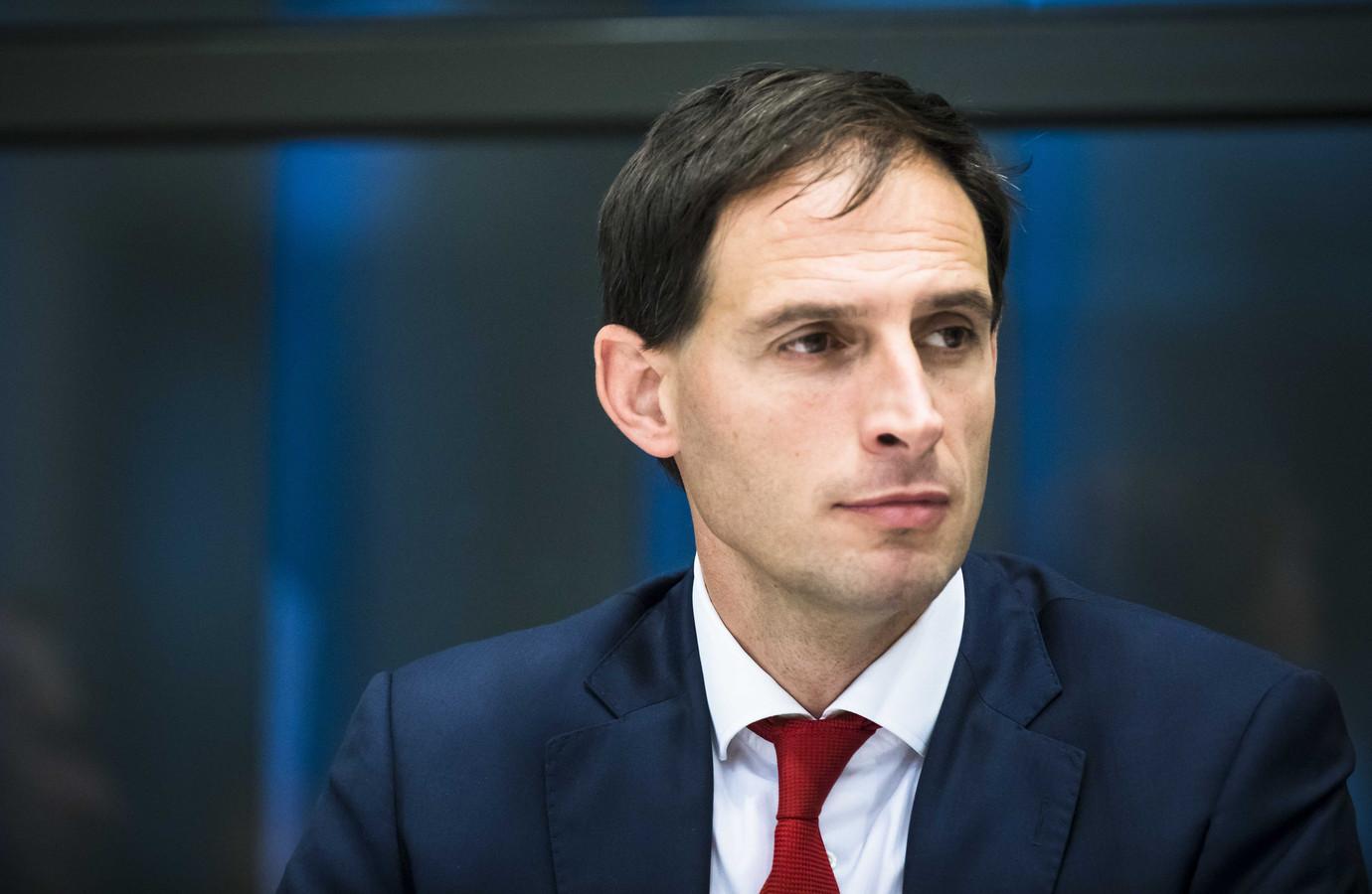 Minister Wopke Hoekstra van Financiën.