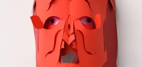 Kunstenaars leggen hun ziel  in maskerade in Oss