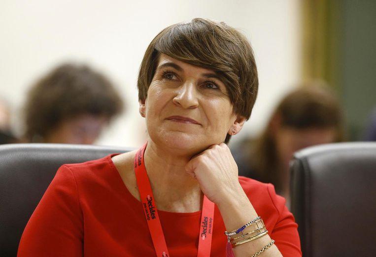 PvdA'er Lilianne Ploumen. Beeld belga