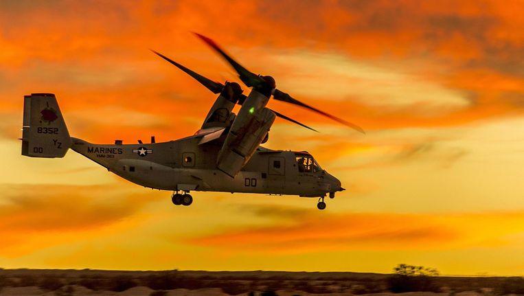 Een Osprey van de Amerikaanse mariniers. Beeld US Department of Defense