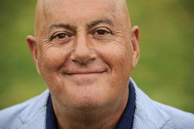 Sportpresentator Jack van Gelder Beeld anp