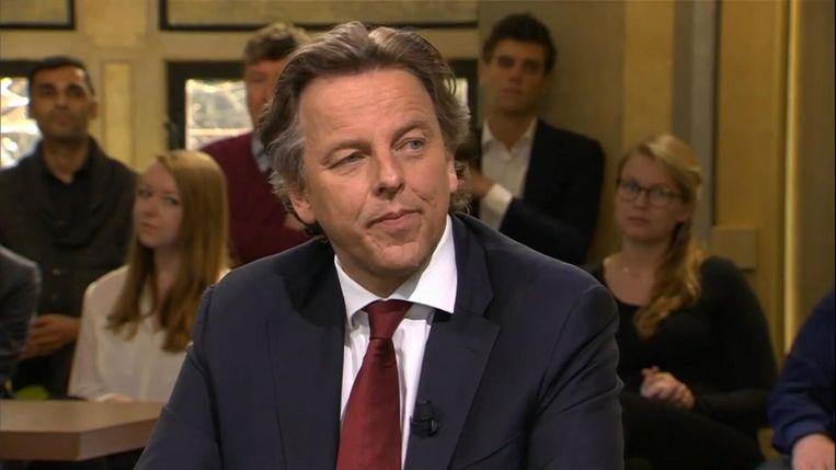 12 MAART, AMSTERDAM: In het actualiteitenprogramma Buitenhof zegt minister van Buitenlandse Zaken Koenders: 'We hebben hem niet definitief willen stoppen.' Beeld Gabriel Eisenmeier