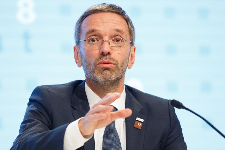Minister van Binnenlandse Zaken Herbert Kickl
