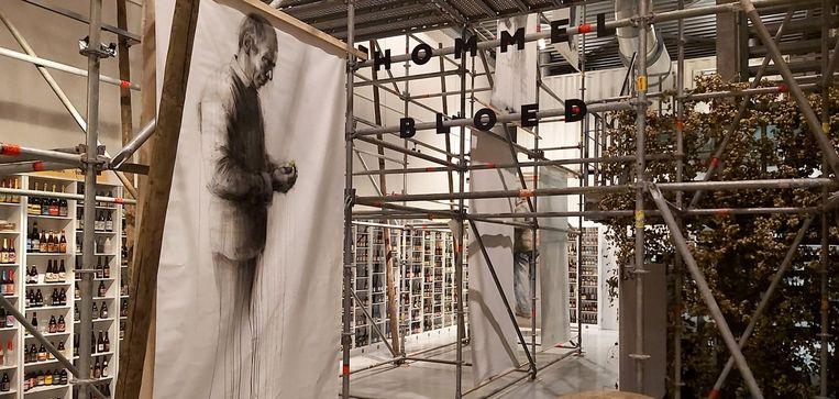 Expo 'Hommelbloed' - kunstenares Nele Boudry.
