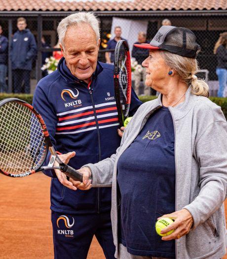 Alsnog gaan tennissen? Old Stars blijven welkom, ook voor 'derde helft'