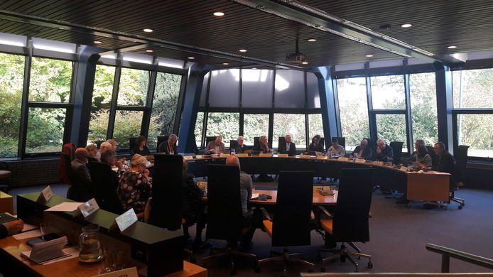 De gemeenteraad van Voorst tijdens de algemeen financiële beschouwingen twee jaar geleden.
