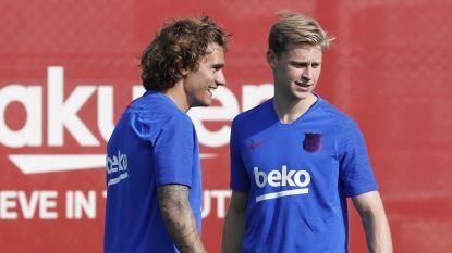 Griezmann en de Jong trainen een eerste keer mee met FC Barcelona