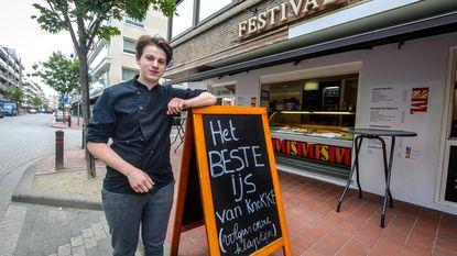 """Knokke bant 'plastic sandwich' uit straatbeeld: """"Biedt geen meerwaarde"""""""