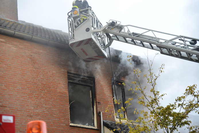 Brand in Etten-Leur