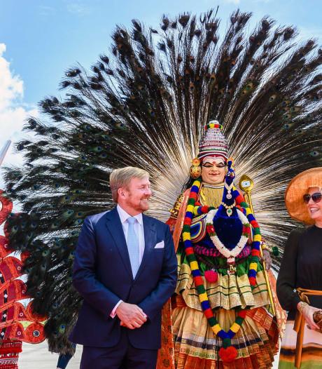Boeren zijn blij met steun koning vanuit India