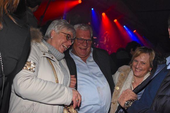 Hexia cyclocross Gullegem - De afterparty in de VIP kende veel meeval
